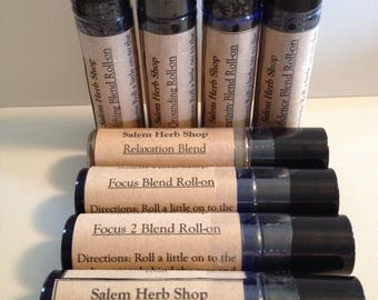 Essential Oil Roll-ons for Mood and Spirit