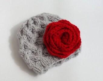 Baby Hat, Baby Girl Hat Newborn Hat Photo Prop, Baby Knit Hat Girl Knit Hat, Infant Hat Newborn Baby Girl Hat, Girl Newborn Hat, baby Outfit