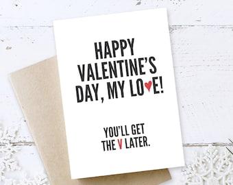 Valentine's Day Card, Funny Valentine Day, valentine girlfriend, valentines boyfriend, valentines card him, valentines card her
