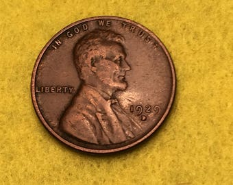 1927-D Lincoln Wheat Cent Original XF <> Coin you see is Coin you get / Free S&H on this order  <>#BCE-528