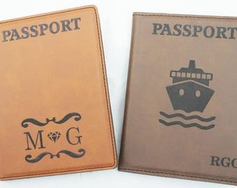 Personalized Passport Cover,Personalize Passport Case,Customize Passport Holder,Personalize Travel Passport,Compass Passport Cover,Travelers