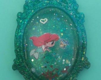 Disney the little mermaid cammeo