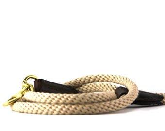 Natural Rope Dog Leash