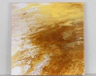 """Acrylic Fluid Painting """"Antares"""" 12""""x12"""""""