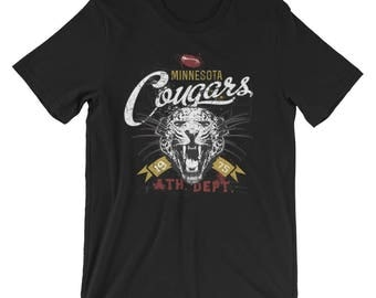 Minnesota Cougars Short-Sleeve Unisex T-Shirt