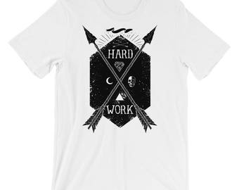 Hard Work Short-Sleeve Unisex T-Shirt