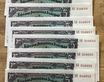 Collection of 41 International Paper Money various types dates and denominations