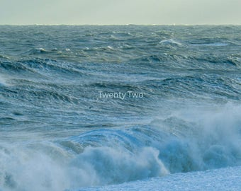 Stormy Waves canvas