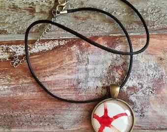 ON SALE Brittlestar pendant necklace