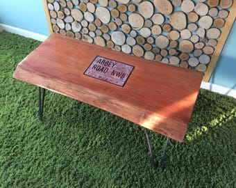 Abbey Road live edge coffee table