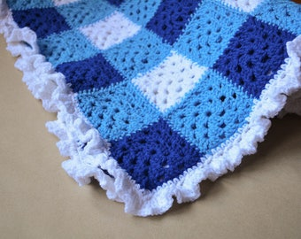 Granny Squares Baby Blankets