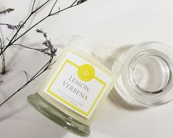 Lemon Verbena 12oz soy candle