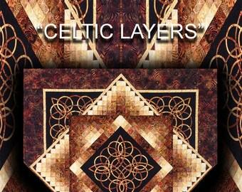 Celtic Layers Quilt Pattern Digital File Download
