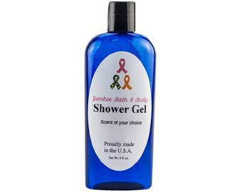 Sensual Amber Scented Natural Shower Gel Free Shipping