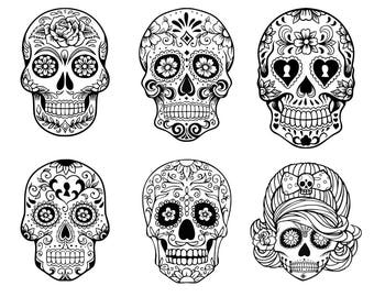 Day of the dead  Etsy