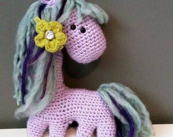 Amigurumi Seafoam The Pretty Pony!