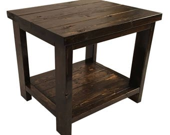 Side Table / Nightstand - Locally Handcrafted Furniture from Nashwood
