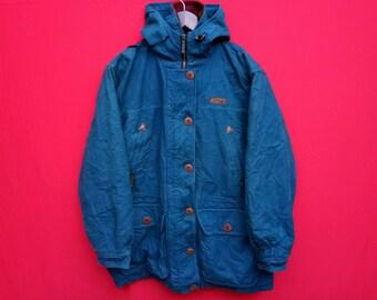 vintage L bean jacket medium size