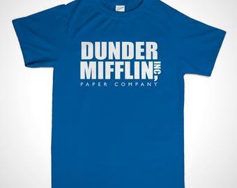 Dunder Mifflin shirt - Dunder Mifflin Tee - The Office TV Series Shirt - Dunder Mifflin Paper Company Shirt