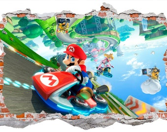 Mario Kart Wall Sticker Wall Decal