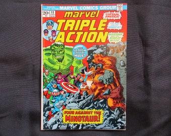 Marvel Triple Action #11 Marvel Comics 1973