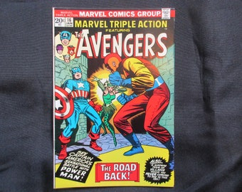 Marvel Triple Action #16 Marvel Comics 1973