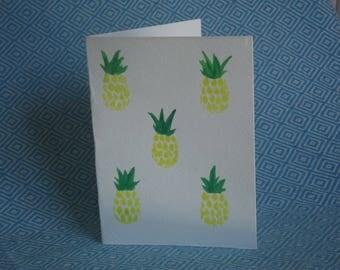 Blank Card, Pineapple Card