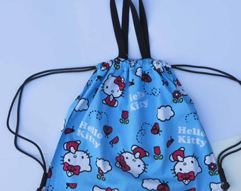 Tote Backpack Hello Kitty