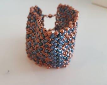 Bumpy jeans bracelet