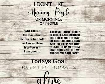 Set of 4 Coffee Sayings SVG
