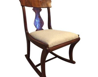 PRESIDENT'S DAY SALE  Early Twentieth Century Wooden Rocking Chair
