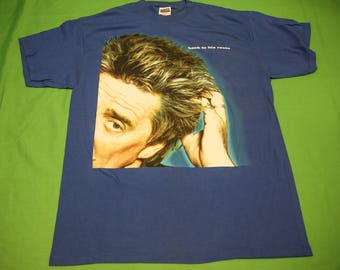 Vintage 90s Rod Stewart T-Shirt XL Back To His Roots Retro The Faces 1990s