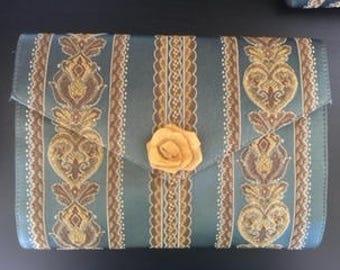 Granada Handmade Golden Clutch - Chocolateandpearls
