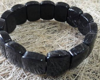 Black Tourmaline Bracelet 15 MM