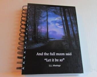 Full Moon Journal