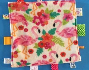 Pink Flamingo Sensory Comfort Mini Blanket