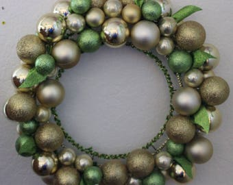 Gold & Green wreath