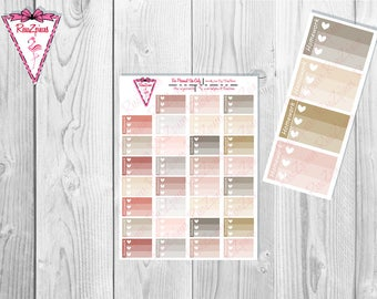 Printable Homework Half Box Checklists - Neutral Colors