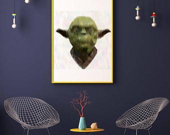 Jedi Master: Yoda. Star Wars printable poster