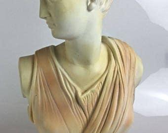 Bust of the goddess Diane Artemis - statue sculpture of Mythology Greek 49 cm