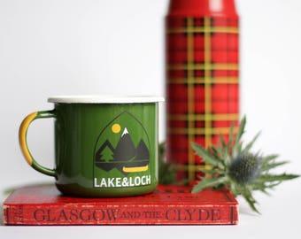 LAKE&LOCH Enamel Mug