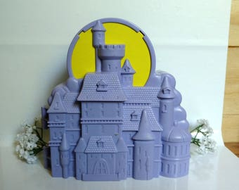 Beauty and The Beast Castle Play Set - Vintage Disney Toy - Be Our Guest - Tale As Old As Time