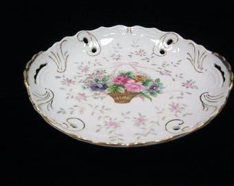 Decorative Serving Plate Lipper & Mann Creations Bristol Garden Collectible