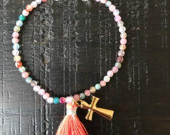 Agate colors bracelet