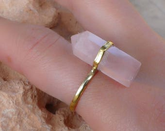 Crystal ring / ring glass