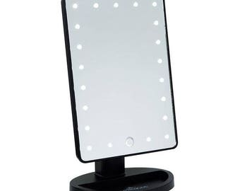Touch 2.0 Dimmable LED Makeup Mirror (Matte )