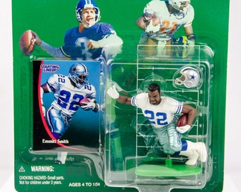 Starting Lineup 1998 NFL Dallas Cowboys Emmitt Smith Action Figure