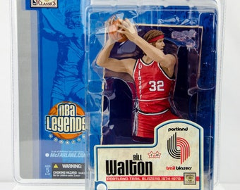 McFarlane's NBA Legends Bill Walton Action Figure Portland Trailblazers