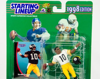 Starting Lineup 1998 NFL Kordell Stewart Action Figure Pittsburgh Steelers