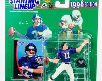 Starting Lineup 1998 NFL Vinny Testaverde Action Figure Baltimore Ravens